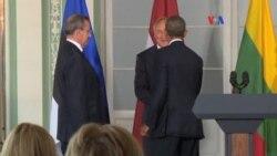 Desde Estonia, Obama confronta al Kremlin