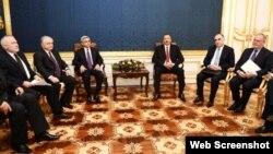 Azərbaycan və Ermənistan prezidentlərinin görüşü