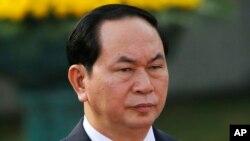 Presiden Vietnam Tran Dai Quang diHanoi, Vietnam, 20 Juli 2016. (Foto: dok).