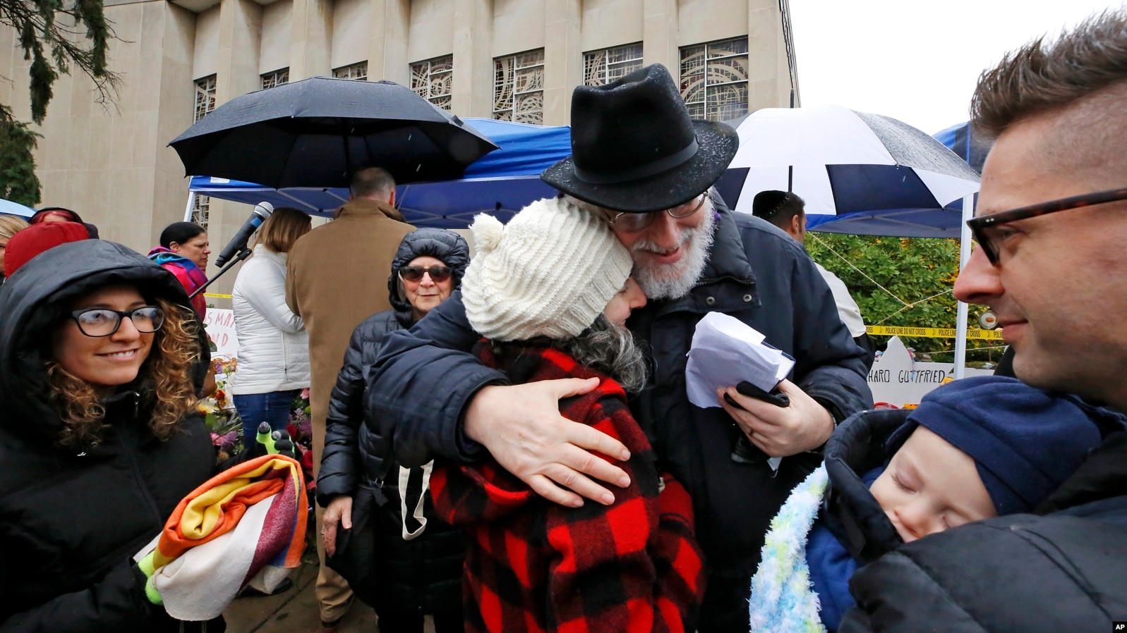 Scores Gather for 'Healing Service' at Pittsburgh Synagogue