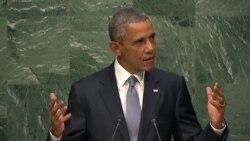 Выступление президента США Барака Обамы на сессии Генассамблеи ООН