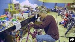 组装儿童自行车