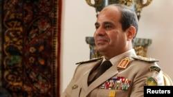 FILE - Egypt's Abdel Fattah el-Sissi