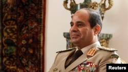 Tướng Abdel Fattah el-Sissi ứng cử tổng thống Ai Cập