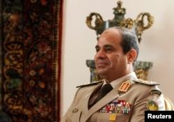 Egypt's former Army Chief General Abdel Fattah el-Sissi in Cairo, Nov. 14,
