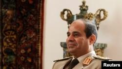 Načelnik generalštaba egipatske fojske Abdel Fatah el-Sisi