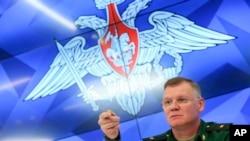 Rusiya Müdafiə Naziriyinin sözçüsü, general-mayor İqor Konaşenkov
