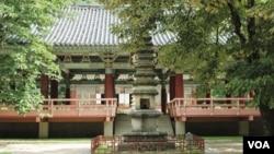 Chùa Pohyon có từ thế kỷ thứ 11 ở Hyangsan, Bắc Triều Tiên. 24/7/13