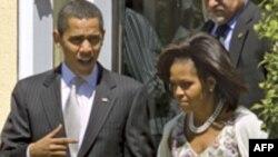 Gia đình TT Obama dự thánh lễ Phục Sinh