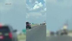 Массовая стрельба в Техасе - видео из соцсетей