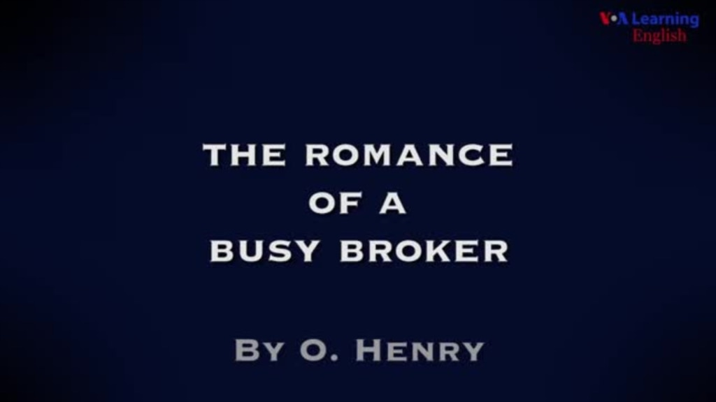 The Romance of a Busy Broker