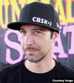 Edson Scander, vice-presidente Confederação Brasileira de Skate
