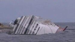 2012-02-03 粵語新聞: 意大利失事郵輪或需數月才能移開