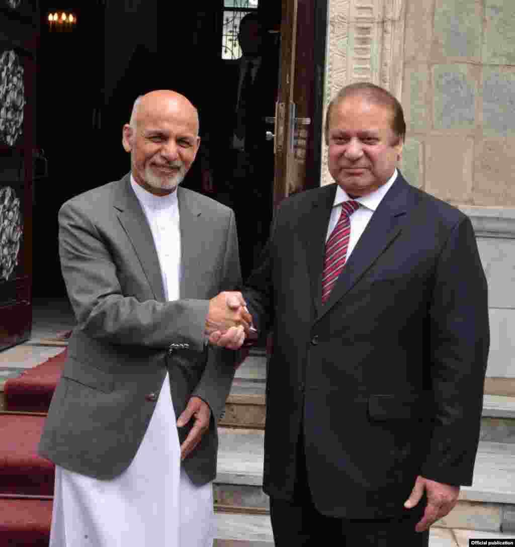 افغانستان میں نئی حکومت کے قیام کے بعدوزیر اعظم نواز شریف کا یہ پہلا دورہ ہے۔