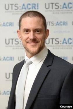悉尼科技大学(UTS)澳中关系研究院院长罗震(James Laurenceson)(照片提供: 罗震)