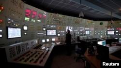 Interior de una planta nuclear: en la de Arkansas el accidente fue clasificado como evento inusual, sin que se haya liberado radiactividad.