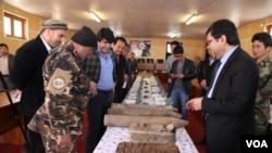 والی بامیان می گوید که طالبان می خواستند ازاین مهمات درحملات بهاری شان استفاه کنند.