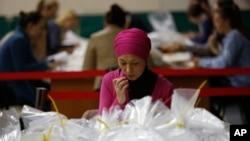 Numërimi i votave në Srebrenicë
