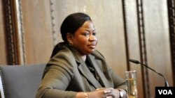 Fatou Bensouda is chief prosecutor for the International Criminal Court (ICC)