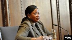 Fatou Bensouda, mwendesha mashtaka mkuu wa mahakama ya kimataifa ya uhalifu-ICC