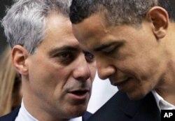 Rahm Emanuel avait démissionné de la Maison-Blanche pour se porter candidat