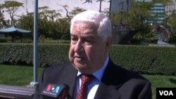 عکس آرشیوی از ولید المعلم وزیر امور خارجه سوریه