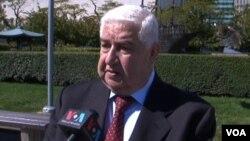敘利亞外長穆阿利姆。