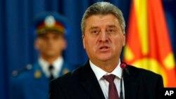 Президент Македонии Георге Иванов