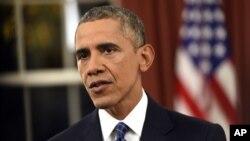 Tổng thống Obama đề ra kế hoạch 4 phần để triệt hạ nhóm Nhà nước Hồi giáo, ngày 6/12/2015.