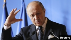 로랑 파비우스 프랑스 외무장관. (자료사진)