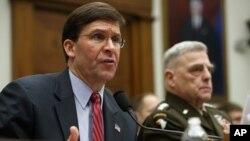 جنرال مارک میلی و مارک اسپر در کانگرس امریکا در مورد افغانستان توضیحات دادند