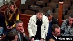 Branka Milić u sudnici u Podgorici (rtcg.me)