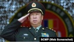 中共中央軍委委員、軍委聯合參謀部參謀長李作成。(資料照片)