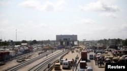 Une vue de Lagos.