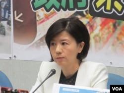 台灣在野黨國民黨立委王育敏。