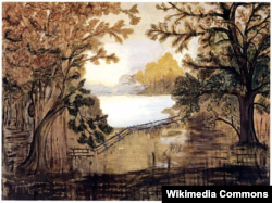 그랜마 모지스가 1918년에 그린 풍경.