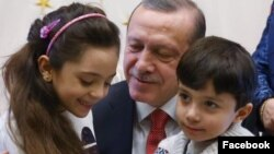 Turkish President Recep Tayyip Erdogan Facebook Image (Facebook)