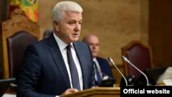 Premijer Crne Gore Duško Marković, Podgorica 25. april 2018. (foto: rtcg.me)