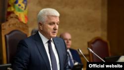 Duško Marković premijerski sat (foto: rtcg.me)