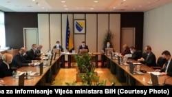 Bosnia and Herzegovina - BiH Council of Ministers, December 3, 2020