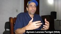Capriles ha apostado por un cambio en Venezuela a través de los procesos electorales.