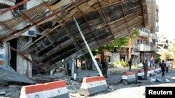 دغه بريدونه طرطوس، حمص، دمشق او دکردانو تر کنټرول لاندې ښار الحسکه کې شويدي.