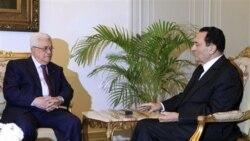 دیدار محمود عباس با حسنی مبارک
