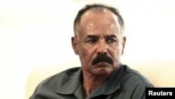 Le président Isaias Afwerki de l'Erythrée, 11 juin 2015