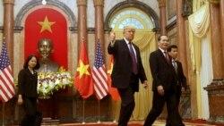 Đón Trump, Việt Nam gặt hái được gì?