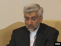 Iran's chief negotiator Saeed Jalili (VOA video)