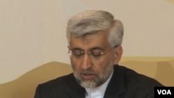 Iran's chief negotiator Saeed Jalili (VOA video)