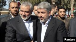 Hamas Leader Ends Exile With Gaza Visit