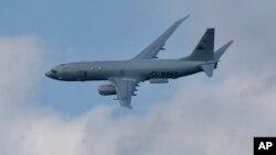 Máy bay trinh sát P8-A Poseidon của Hải quân Hoa Kỳ.