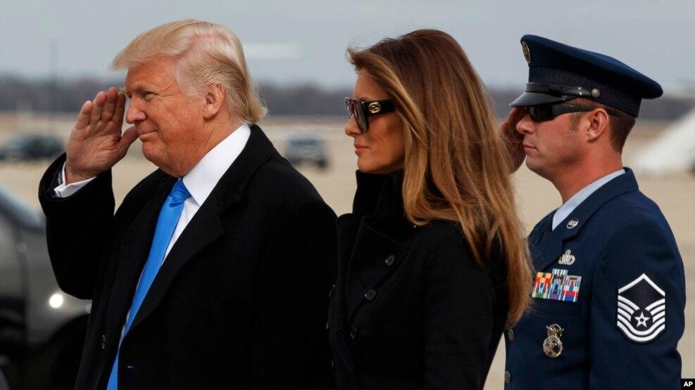 Trump në Uashington, gati për inaugurimin
